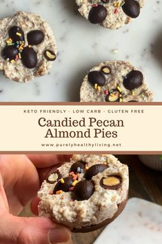 Healthy Living Recipes, Healthy Dishes, Whole Food Recipes, Dessert Recipes, Sugar Free Sweets, Gluten Free Recipes, Easy Recipes, Candied Pecans, Food For A Crowd