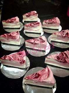 Berry mousse cheese cake