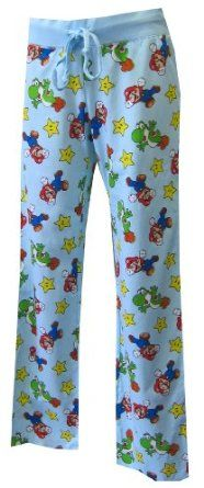 Nintendo Mario and Yoshi BFF Lounge Pants for women Cozy Pajamas 0098e2930