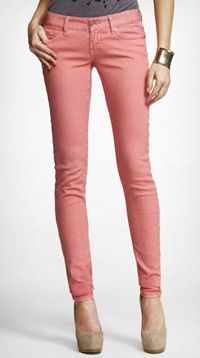Just bought seafoam pants..rose colored pants may be next on the wish list :)