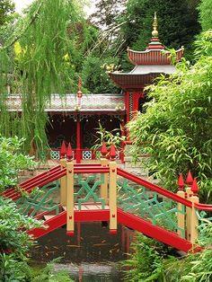 Japanese Garden, Biddulph Grange Gardens - Staffordshire, England