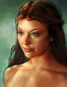 Natalie Dormer: Lady Margaery Tyrell in GoT  Stunning Illustrations by Alice X. Zhang