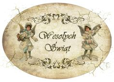 Wesotych Swiat (Merry Christmas in POLISH) | Christmas - Vintage ...