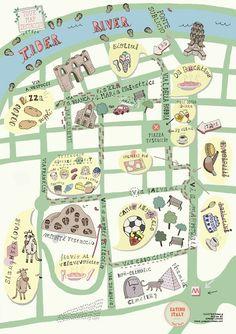 Rome map - Simone Capano