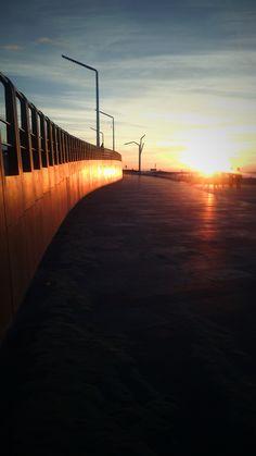 Sunset Boulevard - Scheveningen - photo by Ida M Neves
