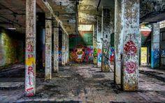 Abandoned factory #graffiti #abandoned
