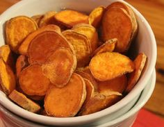 Pink Himalayan Sweet Potato Chips