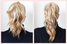 Ever dreamed of a longer, fuller ponytail? This two ponytail trick is just what you need to amp up your pony game.
