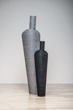 Amphora, in versione black e silver | design robertopamio+partners www.staygreen.it