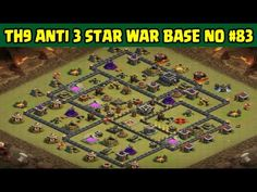 Clash of Clans | Town Hall 9 Anti 3 Star War Base | Layout 83
