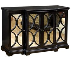Modern Mojo Mirrored Accent Chest | 55DowningStreet.com