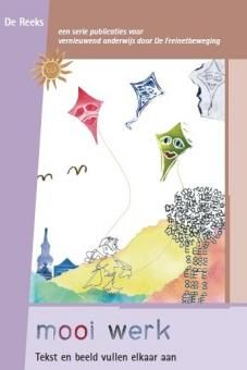Mooi werk. Tekst en beeld vullen elkaar aan. Dit boek (128 blz., kleur) helpt vooral bij het scheppen van goede voorwaarden voor het werken met illustratietechnieken in je groep. Hoe zit het ook al weer precies en met welke materialen bereik je een mooi resultaat? Het boek laat zien waarom vrije teksten en illustratietechnieken bij elkaar horen.