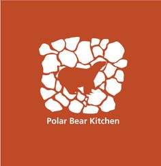 Evoke Graffix - Polar Bear Kitchen Logo Design