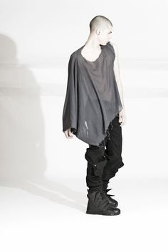 Asher Levine FW2010. Post-apocalypse clothing / fashion / post-apocalyptic wear / male / dystopian / menswear / men's / style / looks