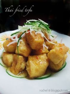 简单 の 生活: 泰式炸豆腐 Thai Style Fried Tofu