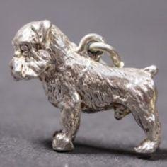 Griffon Bruxellois silver PENDANT