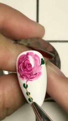 Simple nails art design video Tutorials Compilation Part 278 - NAILS. - - Simple nails art design video Tutorials Compilation Part 278 – NAILS… – - Popular Nail Designs, Nail Art Designs Videos, Nail Art Videos, Simple Nail Art Designs, Gel Nail Designs, Nails Design, New Nail Art, Easy Nail Art, Winter Nails