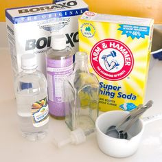 Homemade Eco-Friendly Liquid Dish Soap Courtesy of Savvysugar.com
