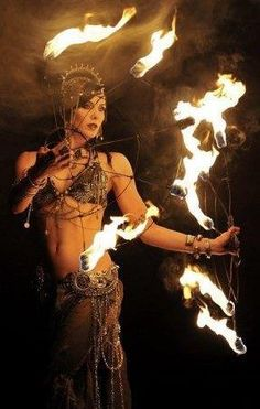 Gypsy fire eater