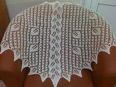 Ravelry: Cloris Shawl pattern by Kristina Schling