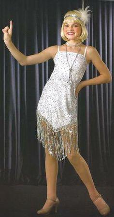 ROXIE Chicago Charleston Flapper Dance Dress Costume Halloween CS-2XL w/Headdres | eBay