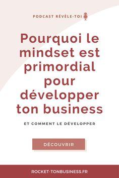 Adopter un bon mindset (c'est-à-dire un bon état d'esprit) est essentiel lorsque l'on est entrepreneur ou freelance. Je te donne quelques conseils pour travailler au quotidien ton état d'esprit d'auto-entrepreneur. Micro Entrepreneur, Entrepreneur Motivation, Leadership, E-mail Marketing, Startup, Dire, Mindset, Coaching, Words
