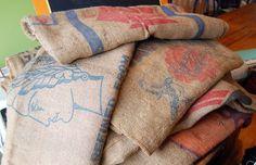 Burlap-feed-sacks