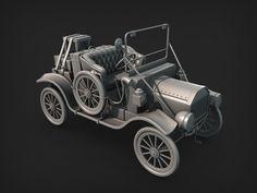ArtStation - Model T, Luis Armstrong