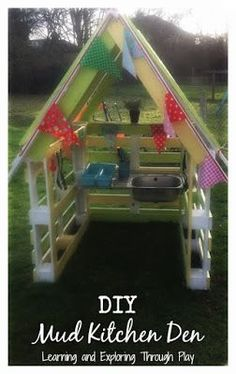 Learning and Exploring Through Play: DIY Mud Kitchen