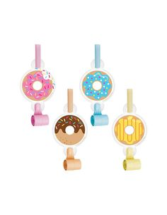 Donut Party Favors Donut Party Donut Birthday Noisemaker