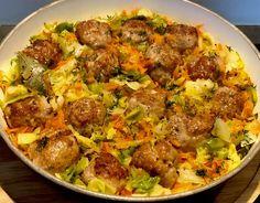 Gołąbkowa patelnia - pyszne danie jednogarnkowe! - Blog z apetytem Bon Appetit, Curry, Food And Drink, Dishes, Chicken, Baking, Vegetables, Breakfast, Ethnic Recipes