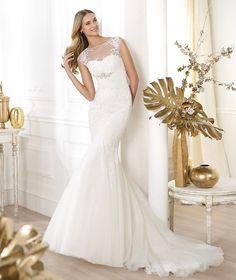 Pronovias ti presenta l'abito da sposa Leonde. Fashion 2014. | Pronovias