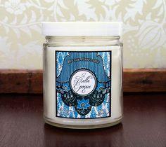 LA BELLE ÉPOQUE, Soy Blend Candle, 8 oz Jar