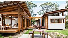 Coastal NSW home celebrates Japanese and European design