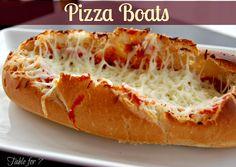Pizza Boats - easy!