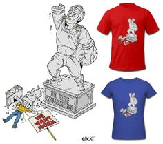 Shirt Designs, Cartoon, T Shirt, Supreme T Shirt, Tee, Cartoons, Tee Shirt