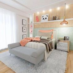 New Bedroom Colors Ideas Coral Ideas Dream Rooms, Dream Bedroom, Cute Room Decor, Girl Bedroom Designs, Diy Décoration, Trendy Bedroom, Home Decor Furniture, New Room, House Rooms