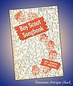 Boy Scout Songbook 1956