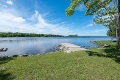 This unique property has many features to offer in the Ottawa Riverfront community of Vydon Acres. The property is very private, comprised of two lots with a total waterfrontage of 216 feet. The sp… Ottawa River, Waterfront Homes, Lighthouse, Acre, Golf Courses, Community, Mountains, Unique, Travel