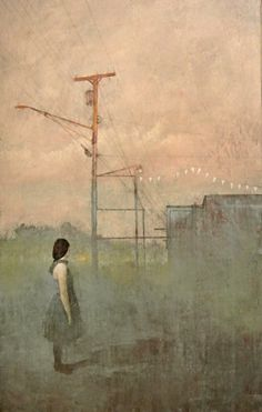 The paintings of Federico Infante make me think of an old world artist who has time traveled to the present....