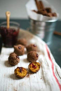mini pumpkin sufganiyot for thanksgivukkah | molly yeh for jew and the carrot