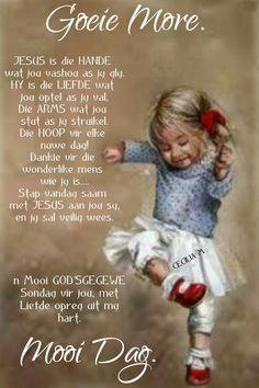 Goeie Nag, Goeie More, Afrikaans, Good Morning, Buen Dia, Bonjour, Good Morning Wishes
