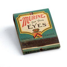 """Murine for Your Eyes"" Matches"