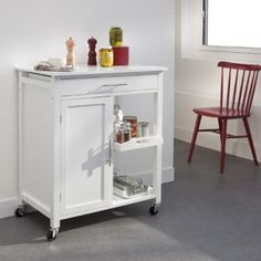 Sobuy fkw06 n desserte roulettes en bambou meuble rangement cuisine roulan - La redoute meubles cuisine ...