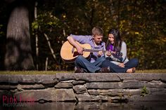 Fall engagement photo @brianaAlbright