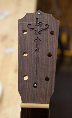 Randall Bramblett custom guitar construction