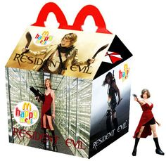 """Resident Evil"" Happy Meal"
