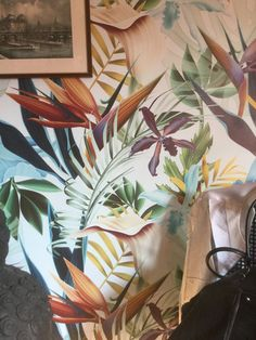 TROPICAL WALLPAPER by WALLPAPERS4BEGINNERS on Etsy