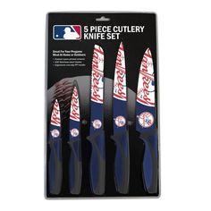 New York Yankees Knife Set - Kitchen - 5 Pack