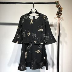 Aliexpress.com : Buy WHITNEY WANG 2018 Spring Simmer Fashion Streetwear Bohemian Style Ruffled Trims Printed Dress Women Casual Dress Vestidos  from Reliable Dresses suppliers on STYLISH Store